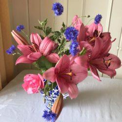 Wild Nettle Gardens Bunch Pink Lilys